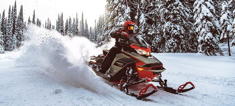 2021 Ski-Doo MXZ X 850 E-TEC ES w/ Adj. Pkg, RipSaw 1.25 w/ Premium Color Display in Woodruff, Wisconsin - Photo 3