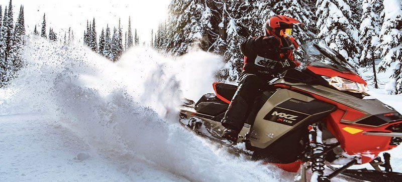 2021 Ski-Doo MXZ X 850 E-TEC ES w/ Adj. Pkg, RipSaw 1.25 w/ Premium Color Display in Woodruff, Wisconsin - Photo 4