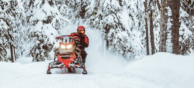 2021 Ski-Doo MXZ X 850 E-TEC ES w/ Adj. Pkg, RipSaw 1.25 w/ Premium Color Display in Woodruff, Wisconsin - Photo 10