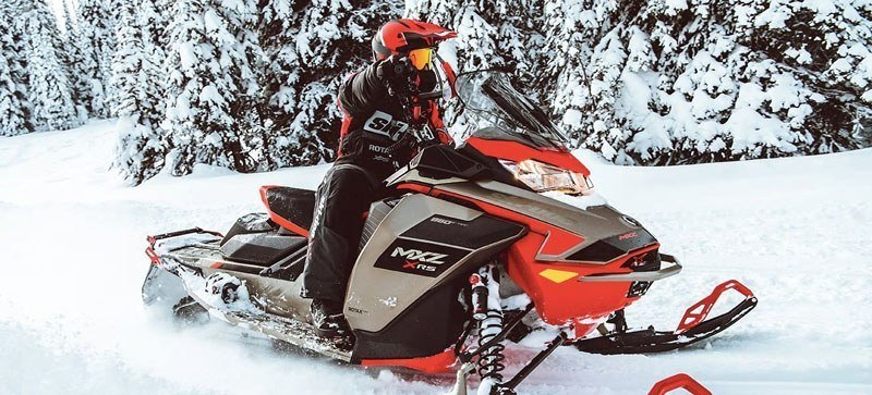 2021 Ski-Doo MXZ X 850 E-TEC ES w/ Adj. Pkg, RipSaw 1.25 w/ Premium Color Display in Clinton Township, Michigan - Photo 14