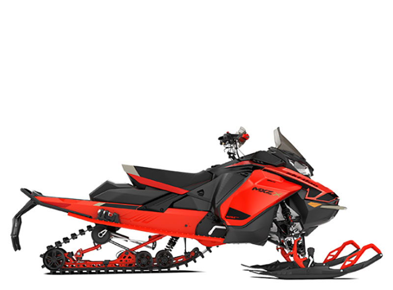 2021 Ski-Doo MXZ X 850 E-TEC ES w/ Adj. Pkg, RipSaw 1.25 w/ Premium Color Display in Woodruff, Wisconsin - Photo 2