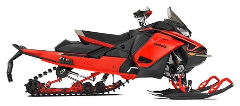 2021 Ski-Doo MXZ X 850 E-TEC ES w/ Adj. Pkg, RipSaw 1.25 w/ Premium Color Display in Augusta, Maine - Photo 2
