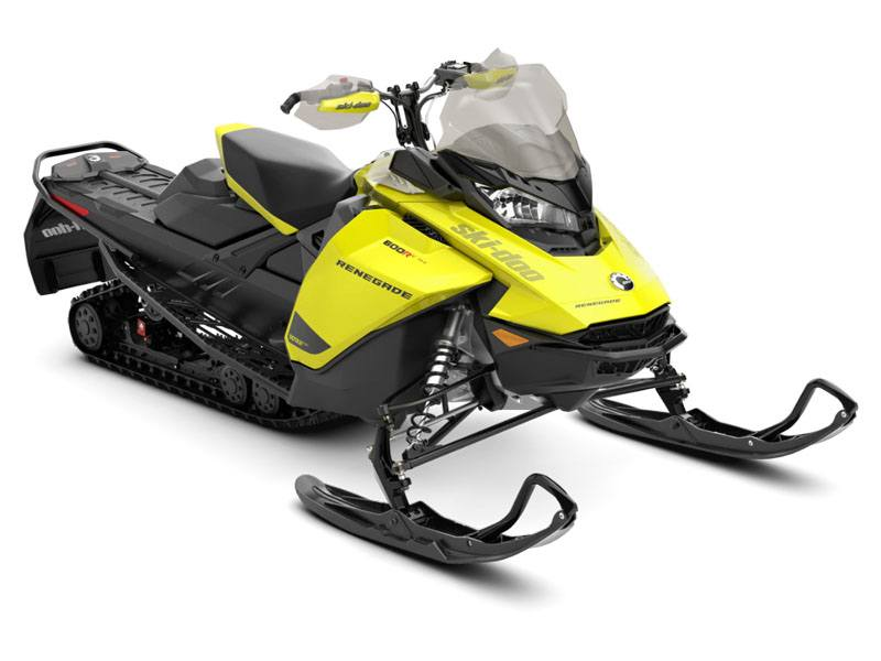 2021 Ski-Doo Renegade Adrenaline 600R E-TEC ES RipSaw 1.25 in Colebrook, New Hampshire - Photo 1