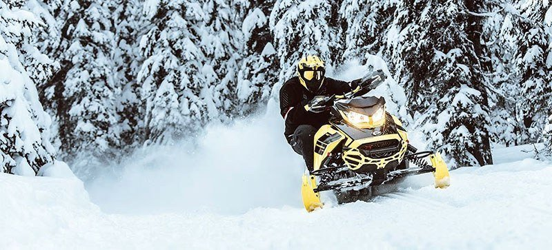 2021 Ski-Doo Renegade Adrenaline 600R E-TEC ES RipSaw 1.25 in Waterbury, Connecticut - Photo 9