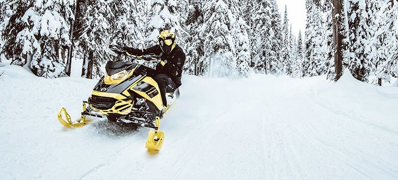 2021 Ski-Doo Renegade Adrenaline 850 E-TEC ES RipSaw 1.25 in Bennington, Vermont - Photo 10