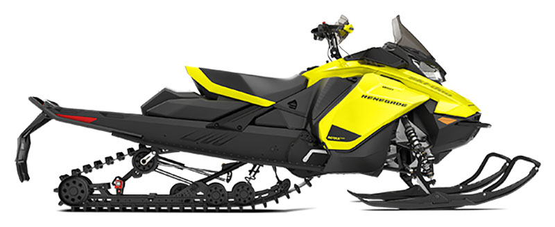 2021 Ski-Doo Renegade Adrenaline 850 E-TEC ES RipSaw 1.25 in Saint Johnsbury, Vermont - Photo 2