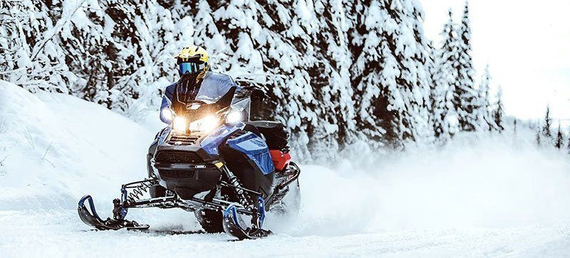 2021 Ski-Doo Renegade X 600R E-TEC ES Ice Ripper XT 1.5 in Speculator, New York - Photo 3