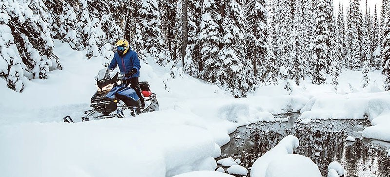 2021 Ski-Doo Renegade X 600R E-TEC ES Ice Ripper XT 1.5 in Augusta, Maine - Photo 4