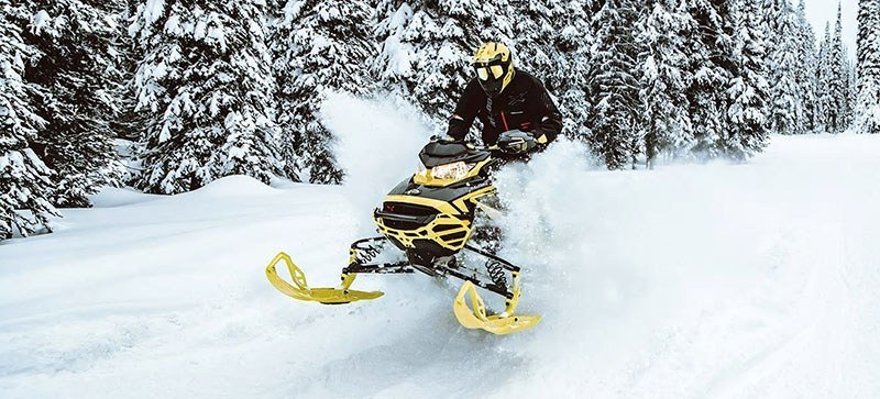 2021 Ski-Doo Renegade X 600R E-TEC ES Ice Ripper XT 1.5 in Speculator, New York - Photo 15