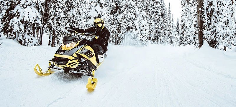 2021 Ski-Doo Renegade X 600R E-TEC ES RipSaw 1.25 in Saint Johnsbury, Vermont - Photo 10