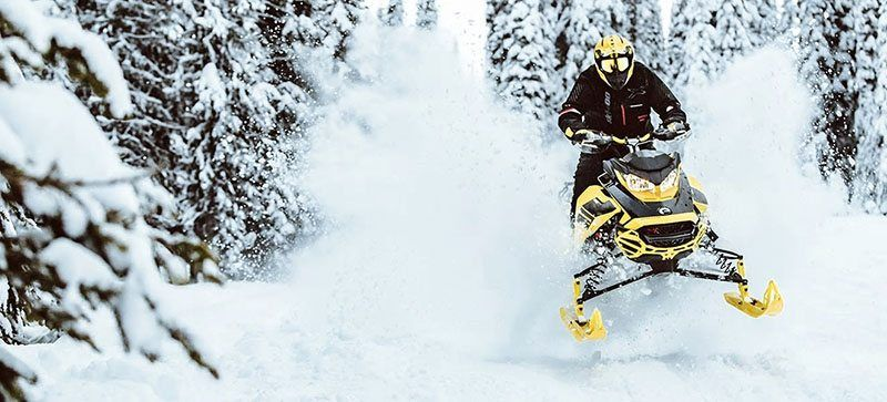 2021 Ski-Doo Renegade X 600R E-TEC ES RipSaw 1.25 in Saint Johnsbury, Vermont - Photo 11