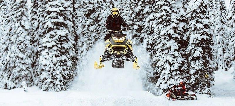 2021 Ski-Doo Renegade X 600R E-TEC ES RipSaw 1.25 in Saint Johnsbury, Vermont - Photo 12