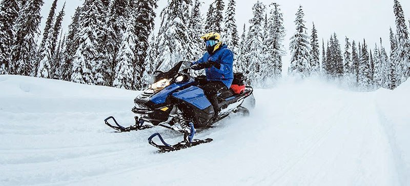 2021 Ski-Doo Renegade X 600R E-TEC ES RipSaw 1.25 in Speculator, New York - Photo 17