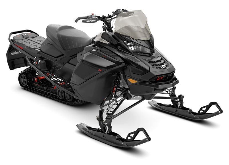 2021 Ski-Doo Renegade X 900 ACE Turbo ES w/ Adj. Pkg, Ice Ripper XT 1.25 in Presque Isle, Maine - Photo 1
