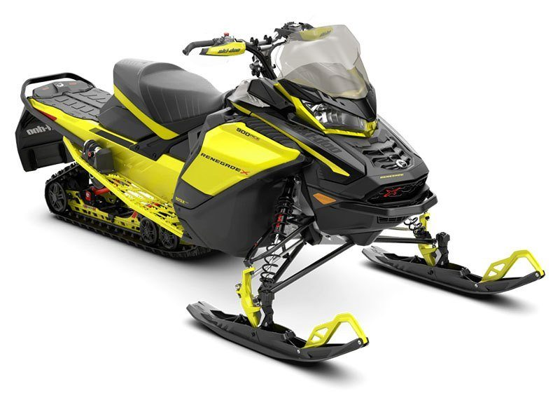 2021 Ski-Doo Renegade X 900 ACE Turbo ES w/ Adj. Pkg, Ice Ripper XT 1.25 w/ Premium Color Display in Sacramento, California