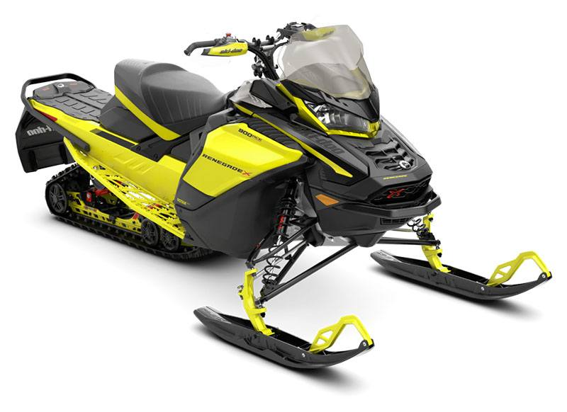 2021 Ski-Doo Renegade X 900 ACE Turbo ES RipSaw 1.25 w/ Premium Color Display in Barre, Massachusetts