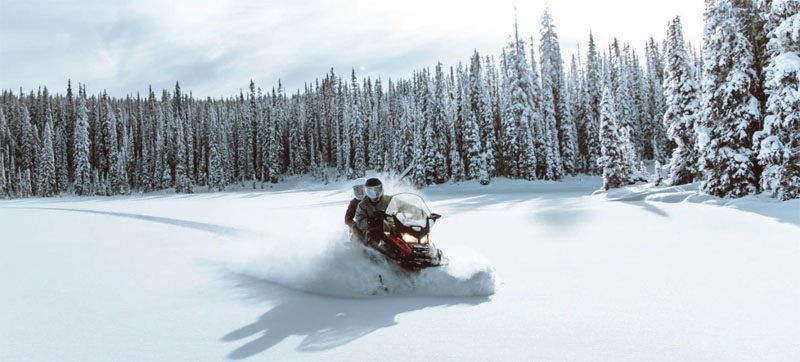 2021 Ski-Doo Expedition LE 600R E-TEC ES Silent Cobra WT 1.5 in Presque Isle, Maine - Photo 2