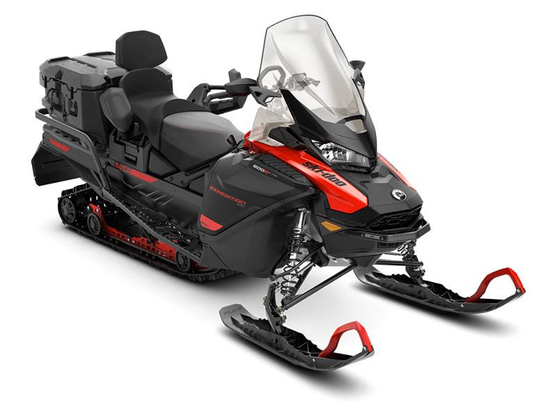 2021 Ski-Doo Expedition SE 600R E-TEC ES Silent Ice Cobra WT 1.5 in Derby, Vermont - Photo 1