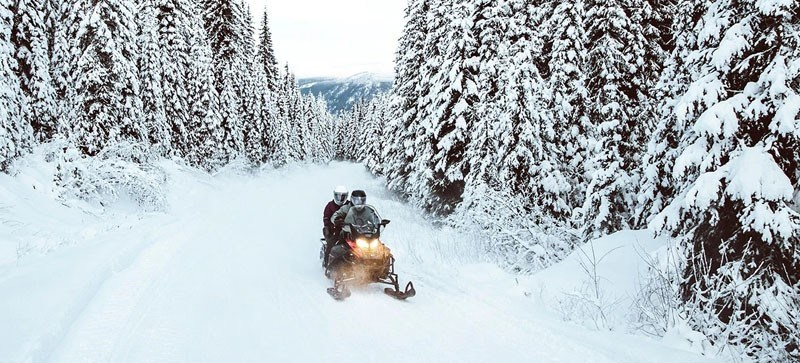 2021 Ski-Doo Expedition SE 600R E-TEC ES Silent Ice Cobra WT 1.5 w/ Premium Color Display in Wenatchee, Washington - Photo 4