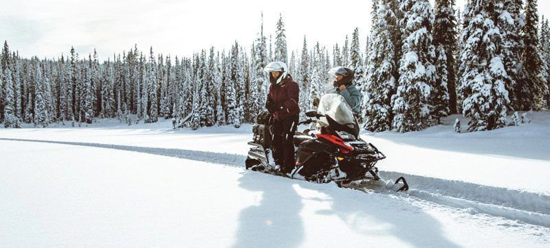 2021 Ski-Doo Expedition SE 600R E-TEC ES Silent Ice Cobra WT 1.5 w/ Premium Color Display in Wasilla, Alaska - Photo 10