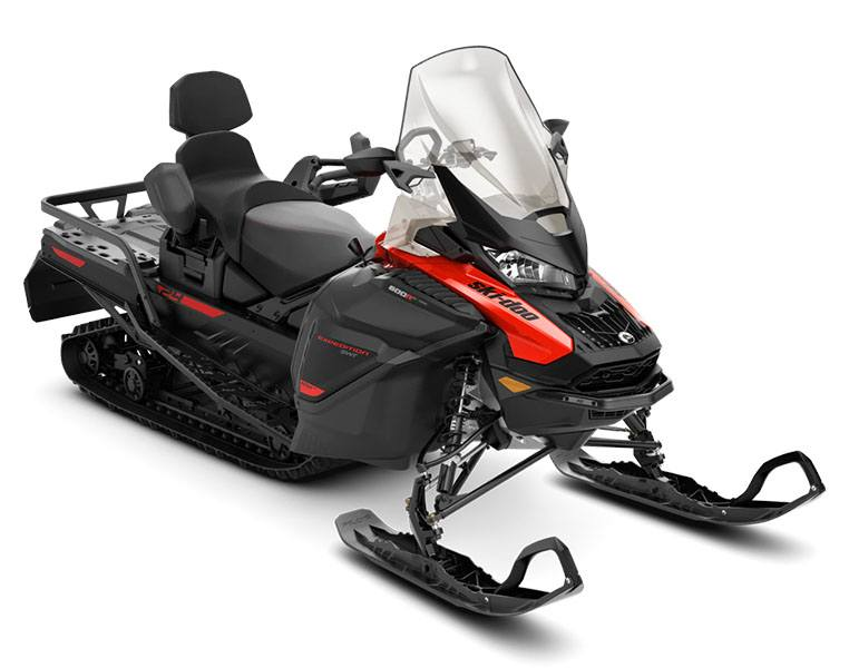 2021 Ski-Doo Expedition SWT 600R E-TEC ES Silent Cobra 1.5 in Zulu, Indiana - Photo 1