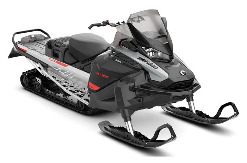 2021 Ski-Doo Skandic Sport 600 EFI ES Utility WT 1.25 in Clinton Township, Michigan - Photo 1