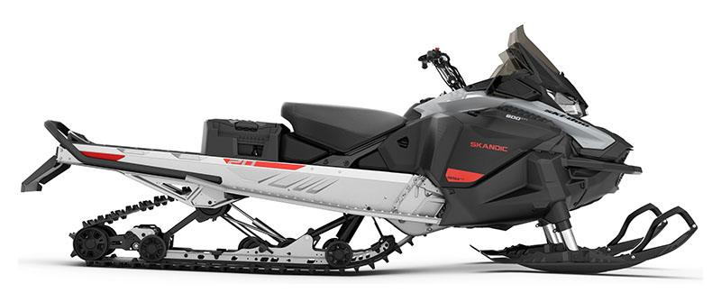 2021 Ski-Doo Skandic Sport 600 EFI ES Utility WT 1.25 in Dickinson, North Dakota - Photo 2