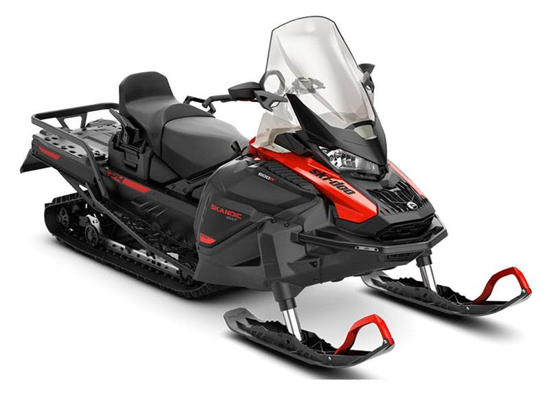 2021 Ski-Doo Skandic SWT 600R E-TEC ES Silent Cobra SWT 1.5 in Billings, Montana - Photo 1