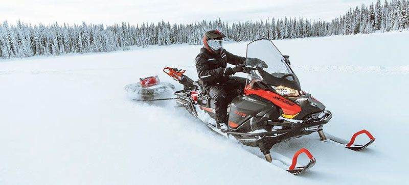 2021 Ski-Doo Skandic SWT 600R E-TEC ES Silent Cobra SWT 1.5 in Unity, Maine - Photo 7