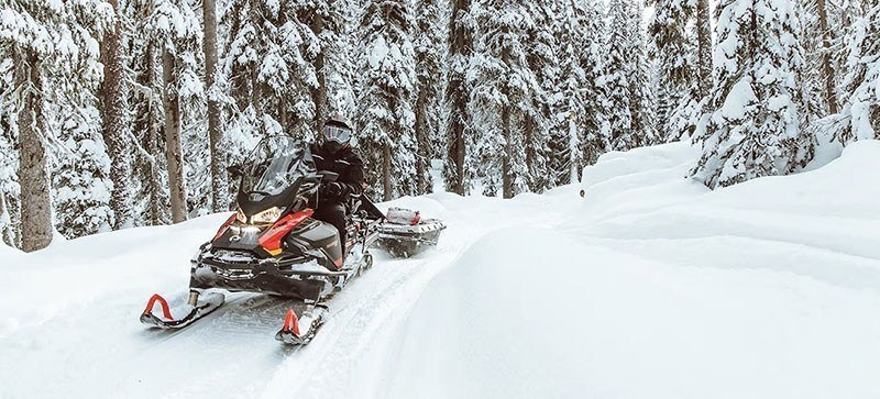 2021 Ski-Doo Skandic SWT 600R E-TEC ES Silent Cobra SWT 1.5 in Land O Lakes, Wisconsin - Photo 8