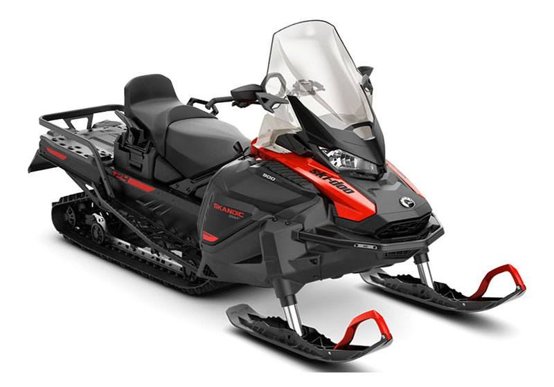 2021 Ski-Doo Skandic SWT 900 ACE ES Silent Cobra SWT 1.5 in Ponderay, Idaho - Photo 1
