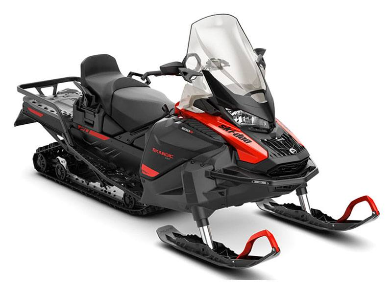 2021 Ski-Doo Skandic WT 600R E-TEC ES Cobra WT 1.5 in Unity, Maine - Photo 1
