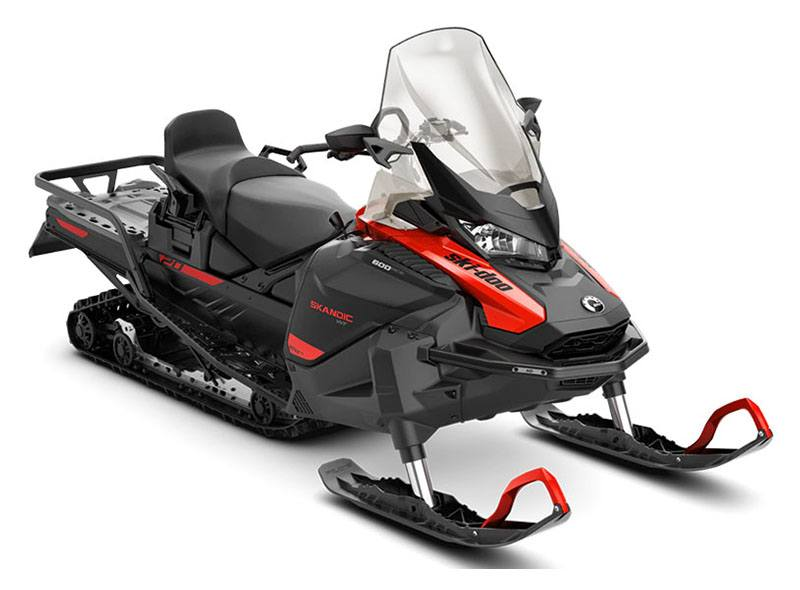 2021 Ski-Doo Skandic WT 600 ACE ES Cobra WT 1.5 in Unity, Maine - Photo 1