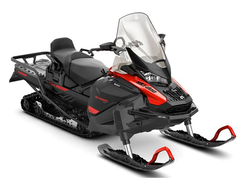 2021 Ski-Doo Skandic WT 600 EFI ES Cobra WT 1.5 in Augusta, Maine - Photo 1