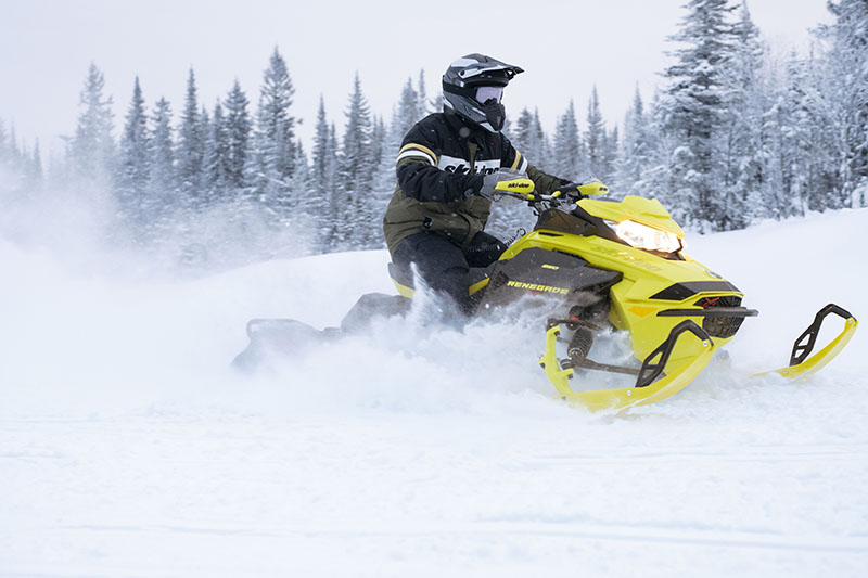 2022 Ski-Doo Renegade X-RS 600 E-TEC w/ Competition pkg. Ripsaw II 1.25 M.S. in Colebrook, New Hampshire - Photo 4