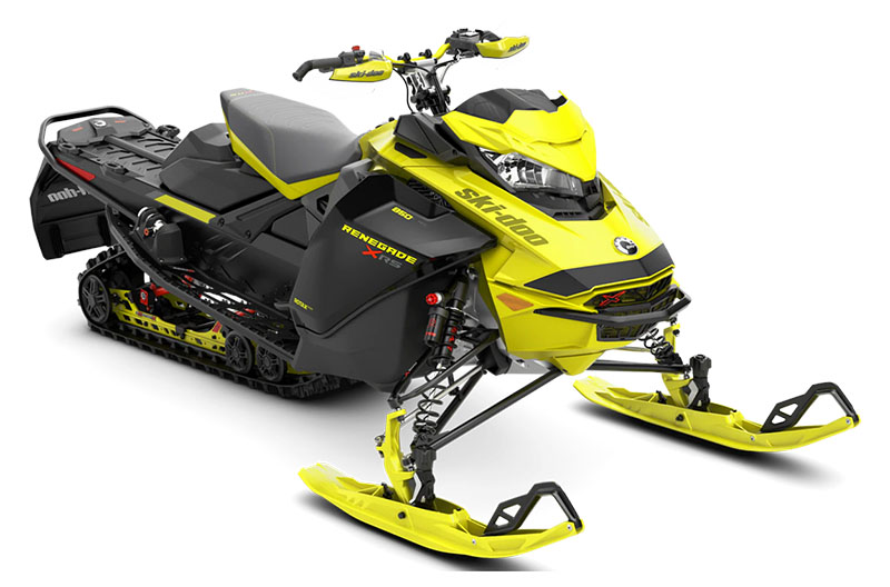 2022 Ski-Doo Renegade X-RS 850 E-TEC ES w/ Adj. Pkg, Ice Ripper XT 1.25 w/ Premium Color Display in Unity, Maine - Photo 1