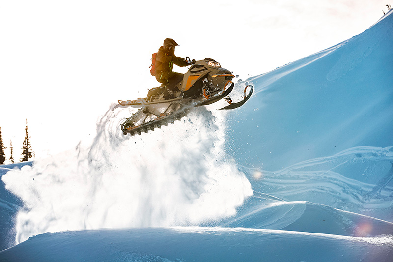 2022 Ski-Doo Freeride 146 850 E-TEC ES PowderMax 2.5 w/ FlexEdge in Presque Isle, Maine - Photo 17