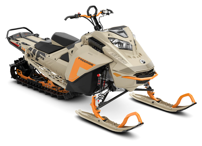 2022 Ski-Doo Freeride 146 850 E-TEC ES PowderMax 2.5 w/ FlexEdge in Roscoe, Illinois - Photo 1