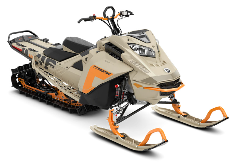 2022 Ski-Doo Freeride 154 850 E-TEC SHOT PowderMax Light 3.0 w/ FlexEdge LAC in Hudson Falls, New York - Photo 1
