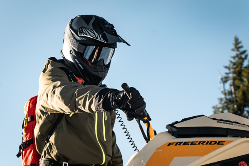 2022 Ski-Doo Freeride 154 850 E-TEC Turbo SHOT PowderMax Light 2.5 w/ FlexEdge in Fairview, Utah - Photo 6