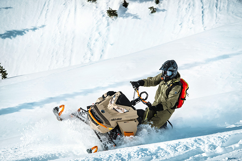2022 Ski-Doo Freeride 154 850 E-TEC Turbo SHOT PowderMax Light 2.5 w/ FlexEdge in Honeyville, Utah - Photo 10