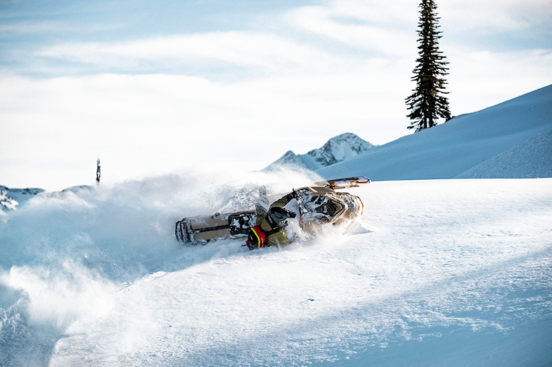 2022 Ski-Doo Freeride 154 850 E-TEC Turbo SHOT PowderMax Light 3.0 w/ FlexEdge in Cottonwood, Idaho - Photo 15