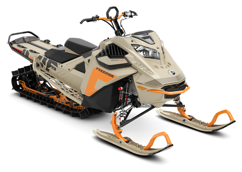 2022 Ski-Doo Freeride 154 850 E-TEC Turbo SHOT PowderMax Light 3.0 w/ FlexEdge in Sully, Iowa - Photo 1