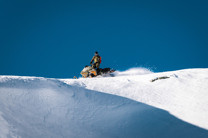 2022 Ski-Doo Freeride 165 850 E-TEC ES PowderMax Light 2.5 w/ FlexEdge LAC in Wasilla, Alaska - Photo 3