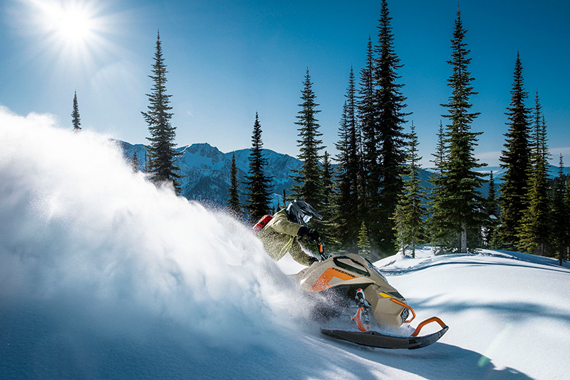 2022 Ski-Doo Freeride 165 850 E-TEC ES PowderMax Light 2.5 w/ FlexEdge LAC in Wasilla, Alaska - Photo 7