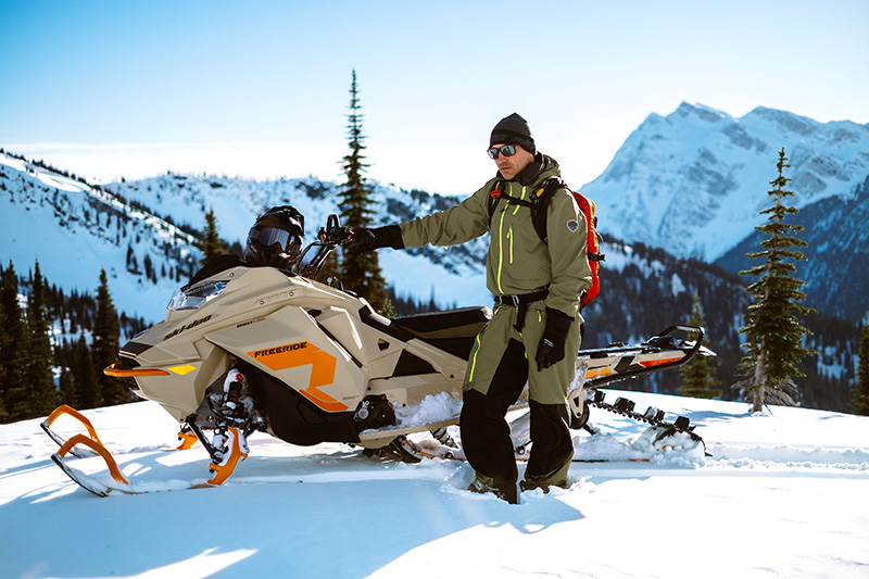 2022 Ski-Doo Freeride 165 850 E-TEC ES PowderMax Light 2.5 w/ FlexEdge LAC in Wasilla, Alaska - Photo 18