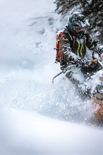 2022 Ski-Doo Freeride 165 850 E-TEC SHOT PowderMax Light 3.0 w/ FlexEdge in Ponderay, Idaho - Photo 4
