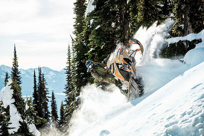 2022 Ski-Doo Freeride 165 850 E-TEC SHOT PowderMax Light 3.0 w/ FlexEdge in Butte, Montana - Photo 9