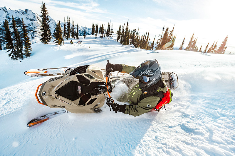 2022 Ski-Doo Freeride 165 850 E-TEC SHOT PowderMax Light 3.0 w/ FlexEdge in Speculator, New York - Photo 11