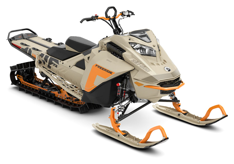 2022 Ski-Doo Freeride 165 850 E-TEC SHOT PowderMax Light 3.0 w/ FlexEdge LAC in Clinton Township, Michigan - Photo 1
